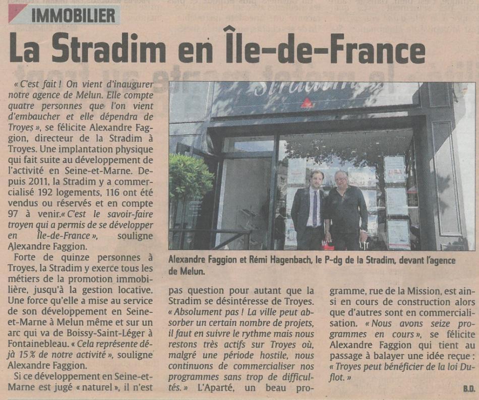 La Stradim en Ile de France