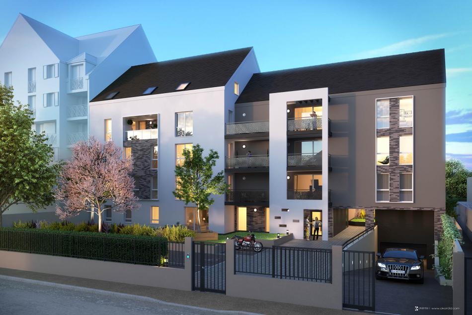 L Opale à Melun - Programme immobilier neuf Stradim à Melun