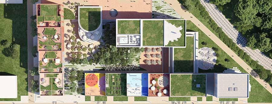 quai starlette plan masse