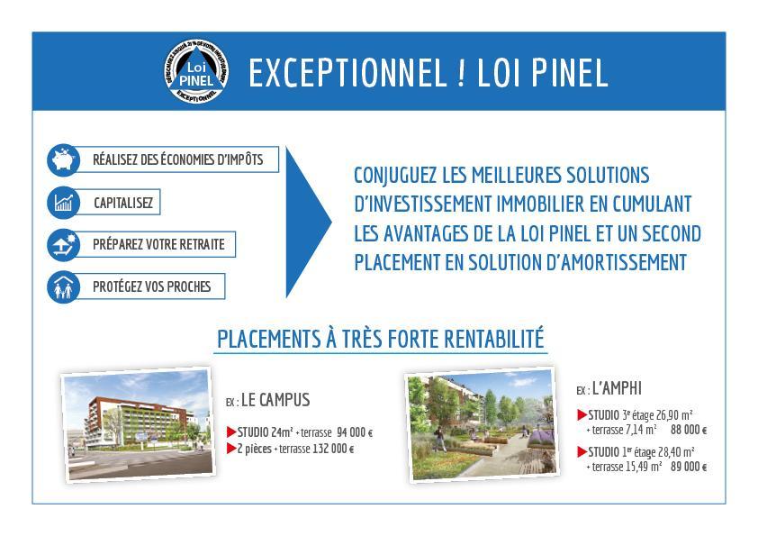 Exceptionnel loi Pinel
