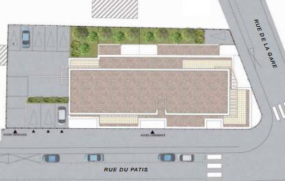 Plan de masse Villa Quintefeuille à Bouaye