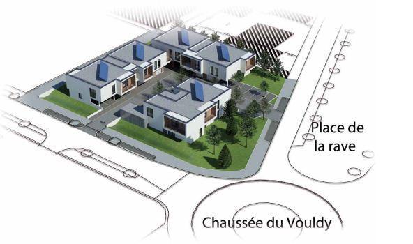 Plan de masse Côté Seine à Troyes