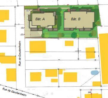 Plan de masse Evidence à Brumath