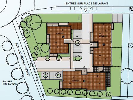 Plan de masse Séquana à Troyes