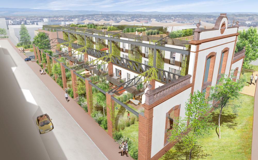 Achat appartement schiltigheim urban side factory stradim for Adresse piscine schiltigheim