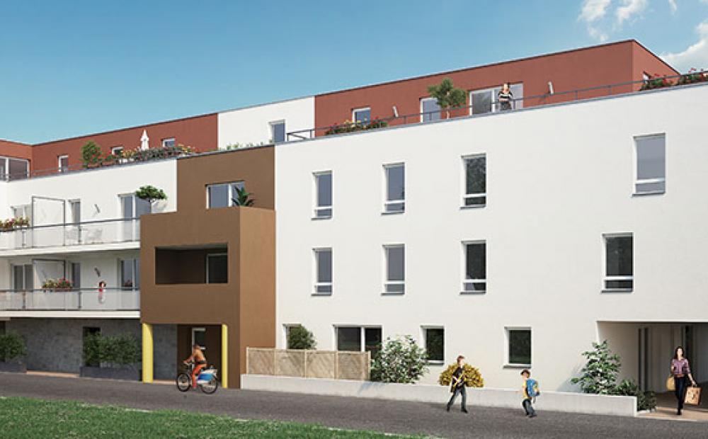 Les Terrasses du Valois programme immobilier neuf Bischheim