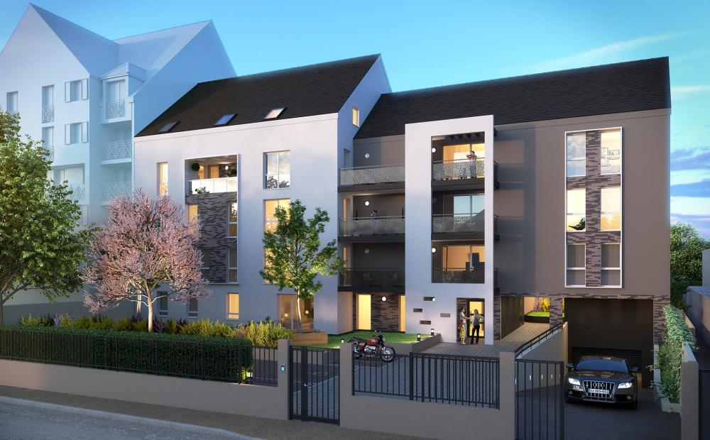 Programme immobilier melun stradim for Programme immobilier neuf region parisienne