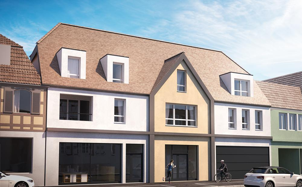 vue-rue-centre-villa-brumath-appartement-neuf