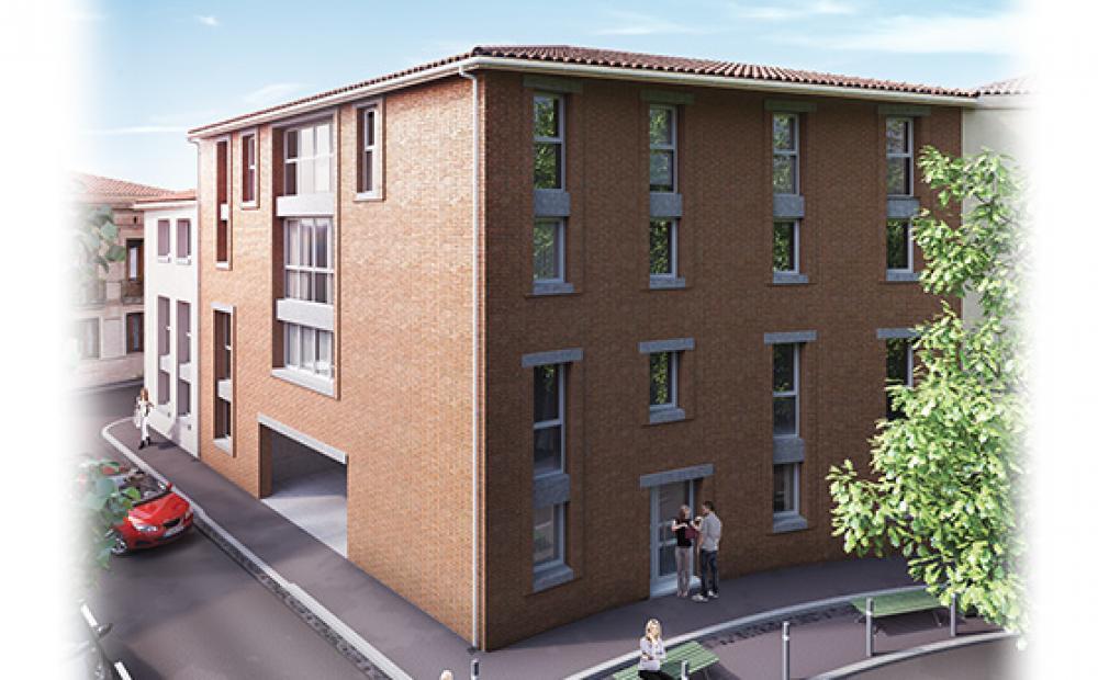 Square Marengo Stradim Toulouse