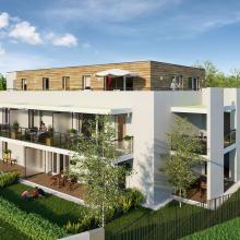 Côté Robertsau - Programme Immobilier neuf Stradim Strasbourg